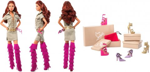 "Barbie panenka Christian Louboutin ""Doll For Ever"""