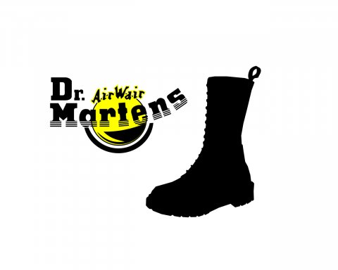 Bílý wallpaper Dr. Martens
